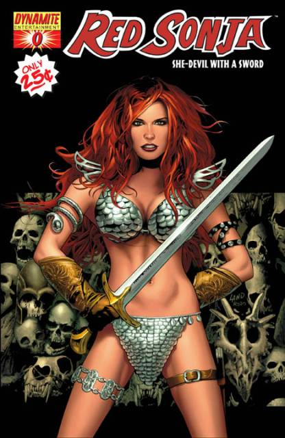 Red Sonja's 2005 debut with Dynamite Entertainment
