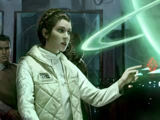 Commanding Rebel troops on Hoth