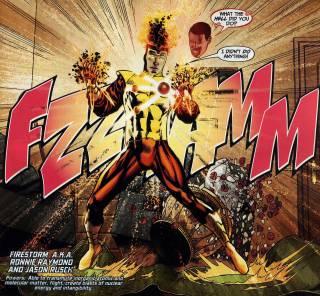Ronnie controls the Firestorm Persona