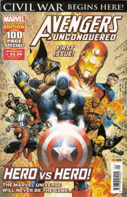Avengers Unconquered