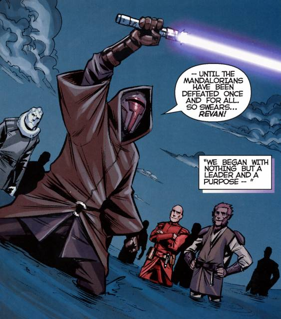 Revan and the Jedi Crusaders