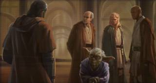 Revan defies the Jedi Council