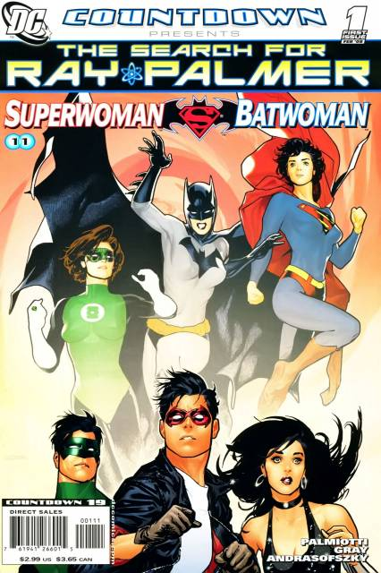 Countdown Presents: The Search For Ray Palmer: Superwoman/Batwoman