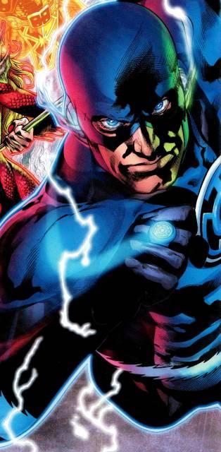A Blue Lantern of Hope, Barry Allen