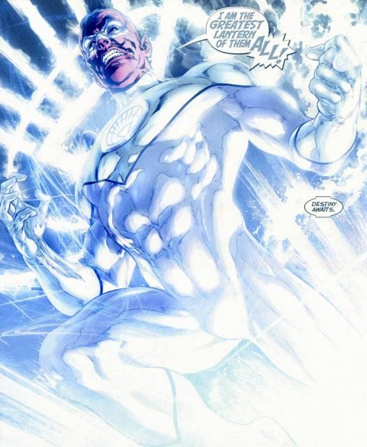 The First White Lantern