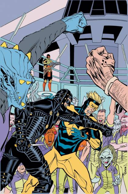 Perforated Man vs Booster Gold