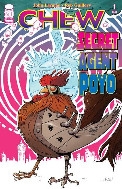 Chew: Secret Agent Poyo
