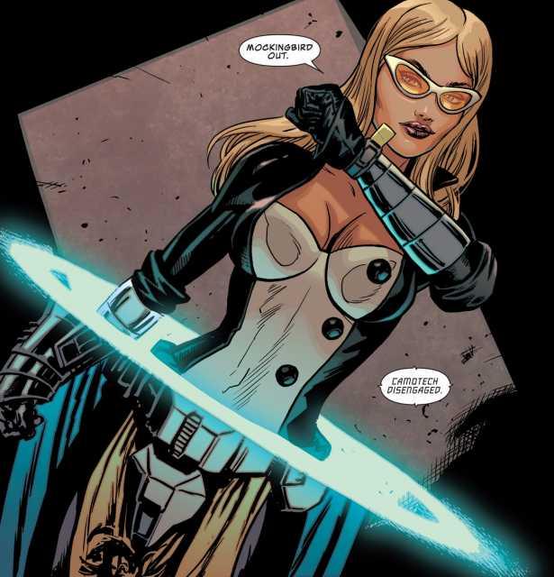 Mockingbird joins the Secret Avengers