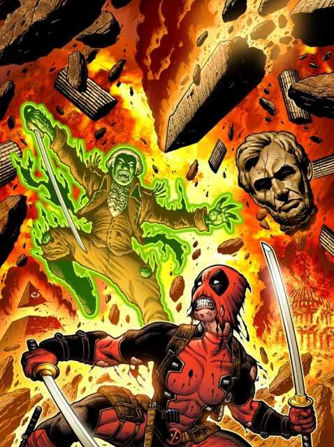 Deadpool vs. the undead Presidents
