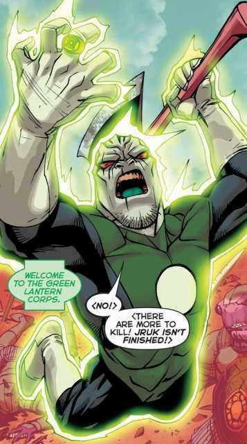 chosen as a Green Lantern