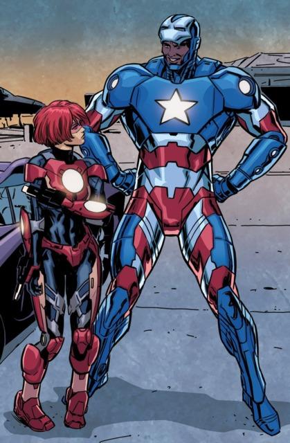 The Iron Patriot armor