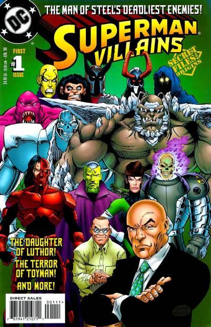 Superman Villains: Secret Files & Origins