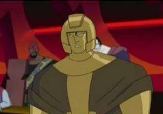 Goldface as he appeared in JLU.