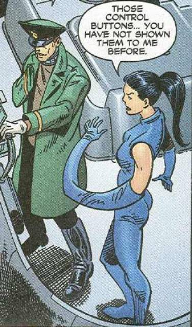 Madame Rouge and Capt. Zahi