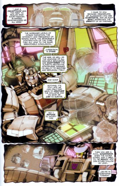 Thunderwing warning both sides of the effect of the war.