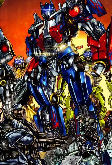 The Autobot and human alliance