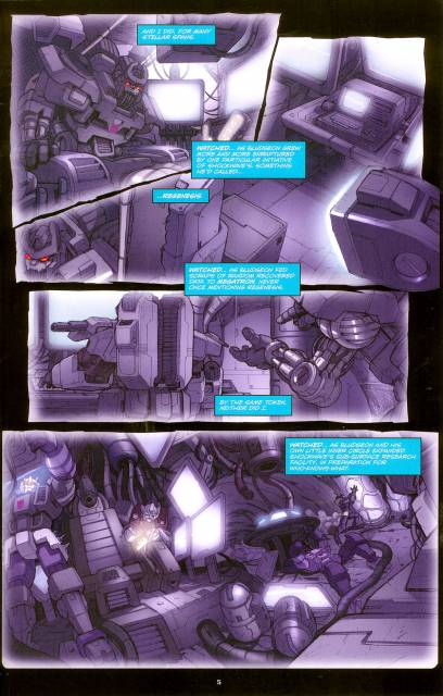 Bludgeon in Shockwave's lab