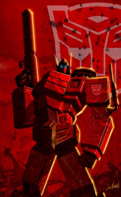 Autobot Officer, Orion Pax.