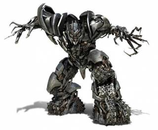 Megatron's new form after being revived in Transformers: Revenge of the Fallen