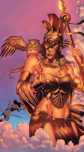Athena Goddess of Wisdom (DC Comics)