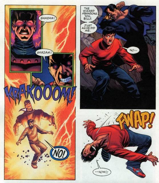 Hank vs Captain Marvel