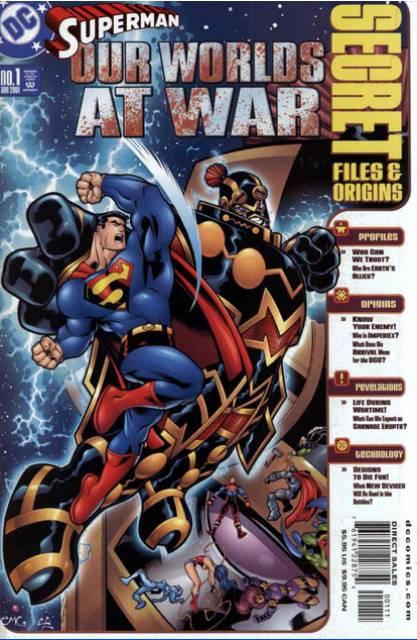 Superman: Our Worlds at War Secret Files & Origins