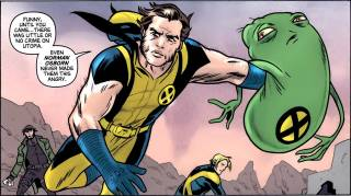 Doop and Wolverine solving a case