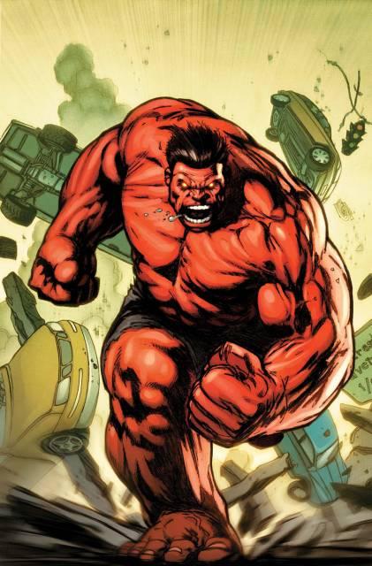 Red Hulk/General Thunderbolt Ross!