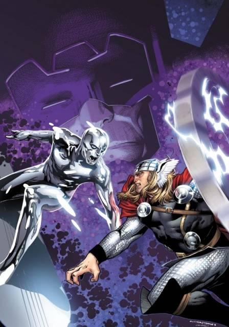 Silver Surfer vs. Thor