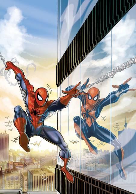 Spider-Girl meets Spider-Man
