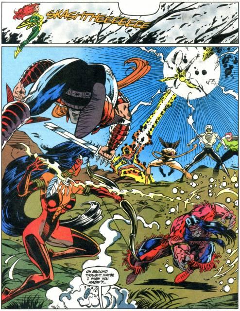 X-Force VS Mutant Liberation Front