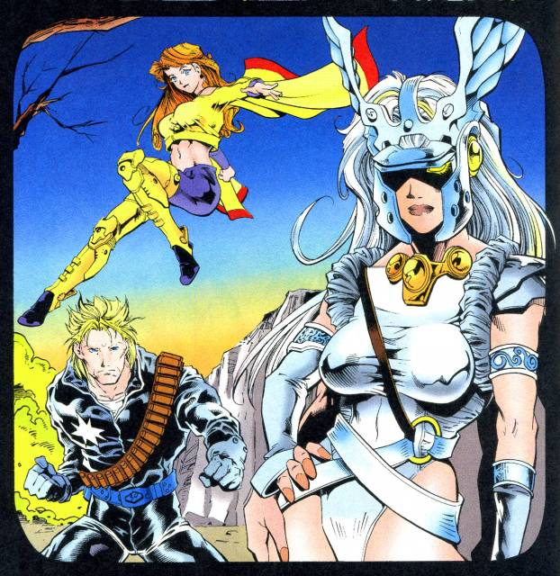 Working with X-Force to save Shatterstar
