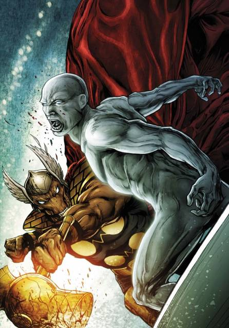Beta Ray Bill and the Surfer