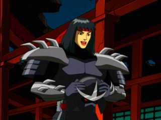 Karai as Shredder