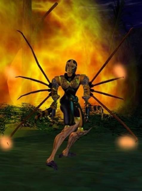 Blackarachnia: Beast Wars