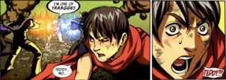 Billy (Wiccan) featured in Secret Invasion: Runaways/Young Avengers #1