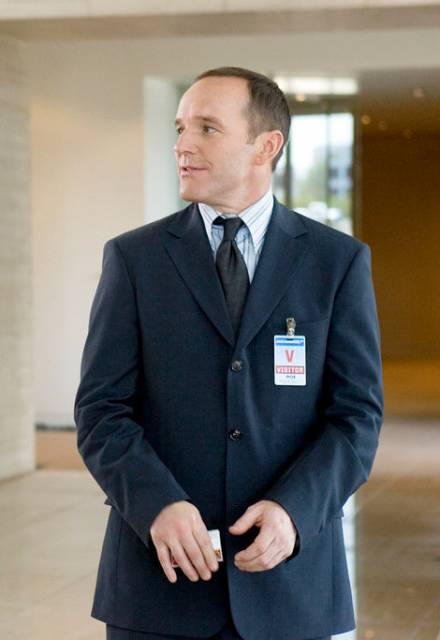 Clark Gregg as Agent Coulson of SHIELD