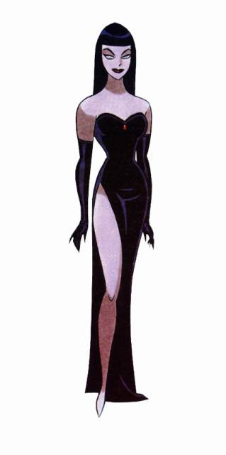 Nocturna as drawn by Bruce Timm