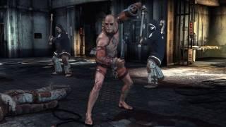 Zsasz in Arkham Asylum
