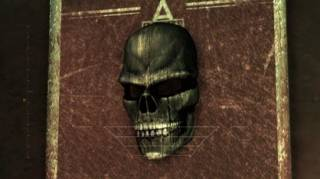 Sionis's famous mask, as seen in Arkham Asylum.