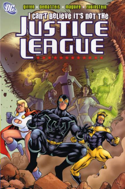 I Can't Believe It's Not the Justice League