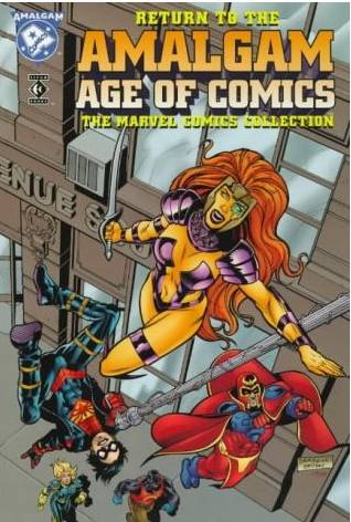 Return to the Amalgam Age of Comics: The Marvel Comics Collection