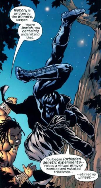 Kasper vs. Killmonger