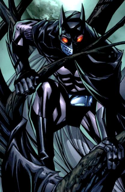Jason as Batman