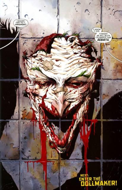 Joker Face off