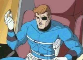 Nick Fury from Spider-Man: The Animated Series