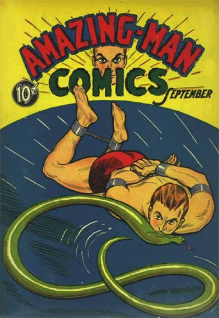 Amazing-Man Comics