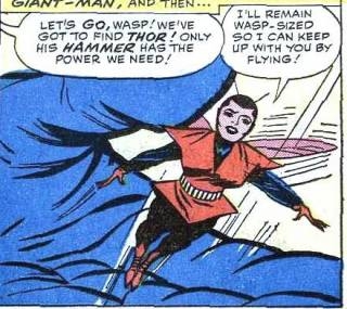 Janet's original Wasp costume.