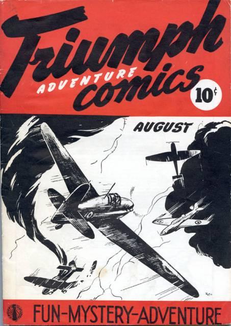 Triumph Adventure Comics