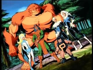 Alpha Flight in X-Men: The Animated Series